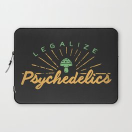 Legalize Psychedelics Laptop Sleeve