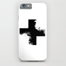 Across the shadow iPhone Case