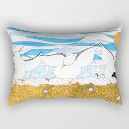 Sea-gals Rectangular Pillow