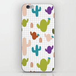 Cactus orange and green #homedecor iPhone Skin