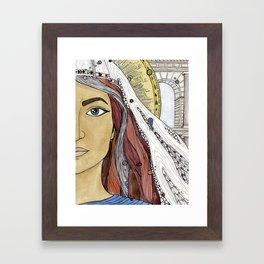 Junia Framed Art Print
