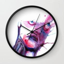 BLEEDING INK Wall Clock