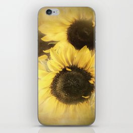 Sunshine With Petals iPhone Skin