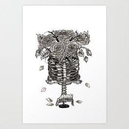 Vase of Bones Art Print