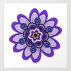 Flower 04 Art Print