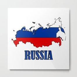 russia Metal Print