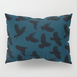 As The Crows Fly Pillow Sham