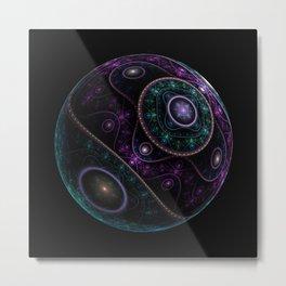 Magic sphere Metal Print