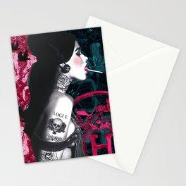 Lollypop Girl · Tattoo Girl · Sexy Girl · Brand Lover Girl Stationery Cards