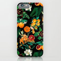 Fruit and Floral Pattern iPhone 6 Slim Case