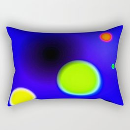 Planets Near The Black Hole Rectangular Pillow