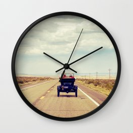 Love on Route 66 Wall Clock
