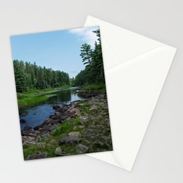 Boundary Waters River Stationery Cards