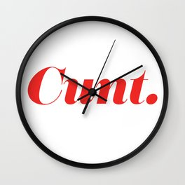 You're a ____. Wall Clock