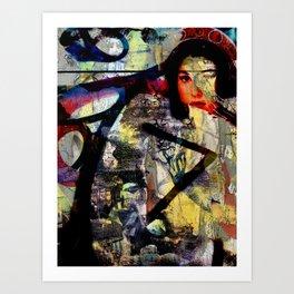 Rodney and Broome Art Print