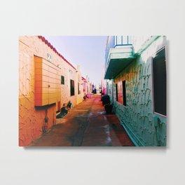 Colorful Capitola Metal Print
