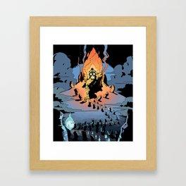 Eldritch Princesses: Merida Framed Art Print