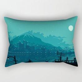 Dark Harbor Rectangular Pillow