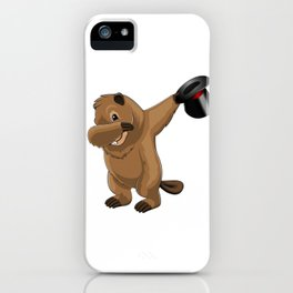 Groundhog Dab iPhone Case