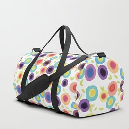 Abstract Flowers Duffle Bag