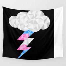 Transgender Storm Cloud Wall Tapestry