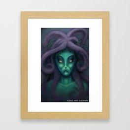 Queen Neptune Framed Art Print