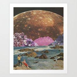 Crystal Callisto Art Print
