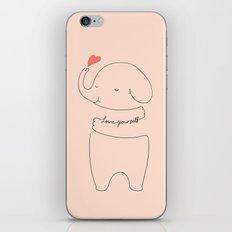 Love Yourself Ele 2 iPhone & iPod Skin