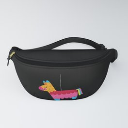 I'd Hit That Funny Pinata Mexican print for Mexican Lovers Fanny Pack