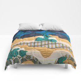 Deserted Stormscape Comforters