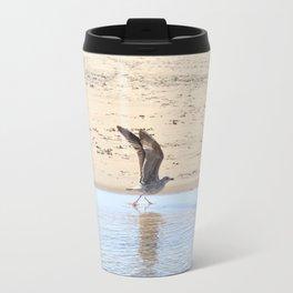 Seagull bird taking off Travel Mug
