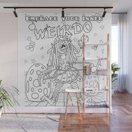 Weirdos Bag Wall Mural