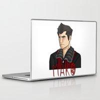 nerd Laptop & iPad Skins featuring Nerd by BlackPhoenixFeathers