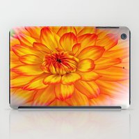 dahlia iPad Cases featuring Dahlia by Art-Motiva