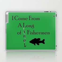 Fishing Line Laptop & iPad Skin