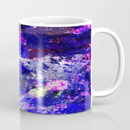 Freedom - Abstract In Blue And Purple Coffee Mug