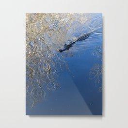 Just keep swimming Metal Print