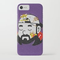 kevin russ iPhone & iPod Cases featuring Kevin by Derek Eads