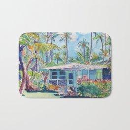 Kauai Blue Cottage 2 Bath Mat