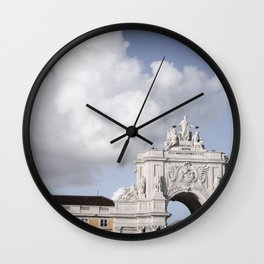 Summon the Clouds Wall Clock