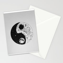 Yin Yang Universe Stationery Cards