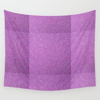glitter Wall Tapestries featuring Glitter by mailboxdisco