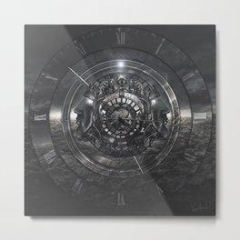 Mechanic Of Time Metal Print