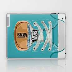 Cute blue teal Vans all star baby shoes iPhone 4 4s 5 5s 5c, ipod, ipad, pillow case and tshirt Laptop & iPad Skin