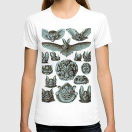 Ernst Haeckel Bats Moonlight T-shirt