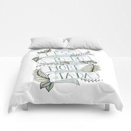 More Ta-Da - Mint Comforters