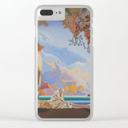 After Maxfield Parrish Clear iPhone Case