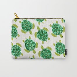 Sea Turtle – Green Palette Carry-All Pouch