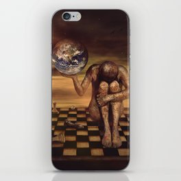 Save our World iPhone Skin