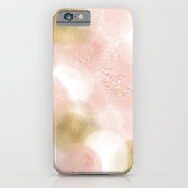 Rose Gold and Gold Blush iPhone Case